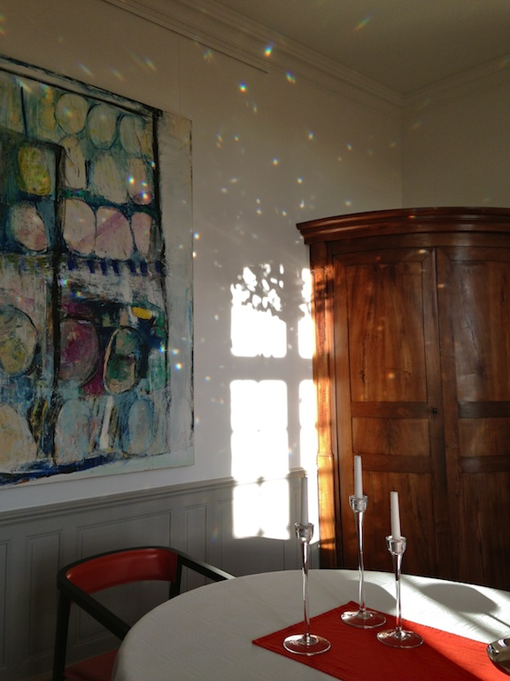 autumn lights in the dining room